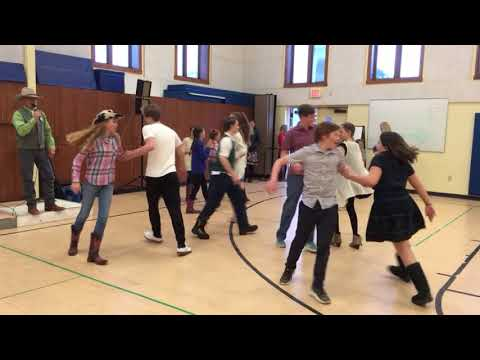 Jackson Hole Classical Academy Square Dance