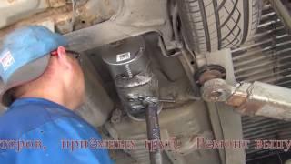 Ремонт выхлопной системы на Toyota. Ремонт выхлопной системы на Toyota в СПб.