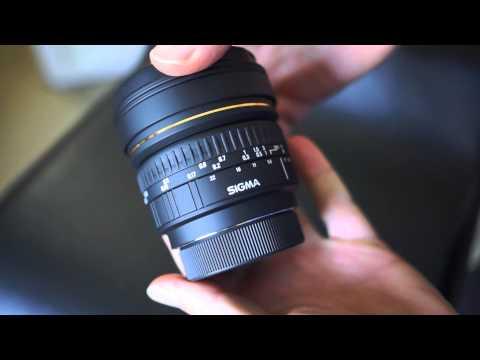 Sigma 8mm Fisheye F3.5 EXDG