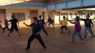 Practicing Taijiquan at NCNU