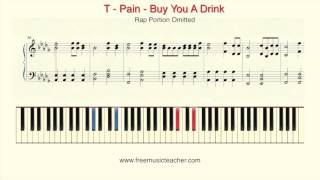 how to play piano t pain buy you a drink