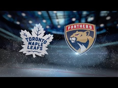 Toronto Maple Leafs vs Florida Panthers - November 22, 2017 | Game Highlights | NHL 2017/18  Обзор
