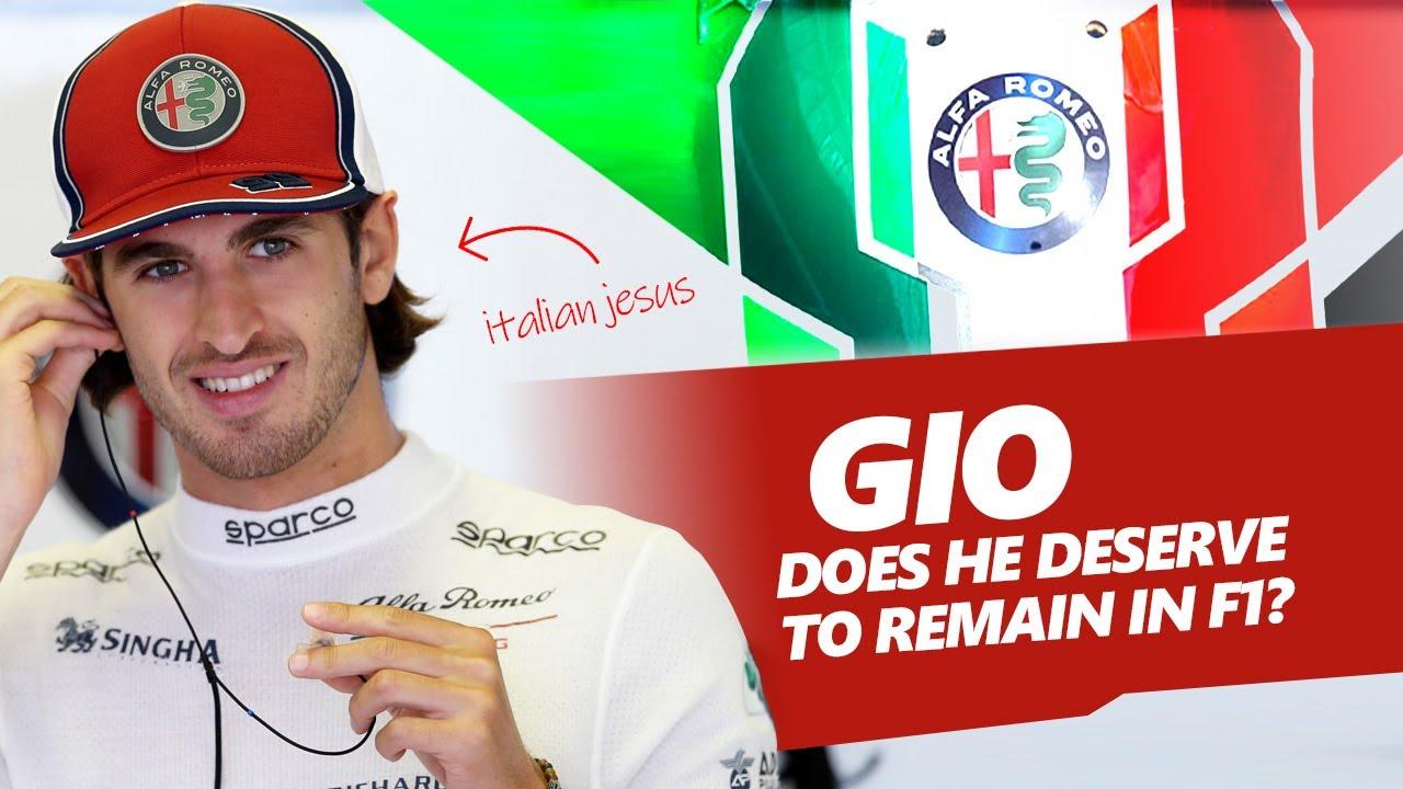 Does Antonio Giovinazzi DESERVE to remain in F1?