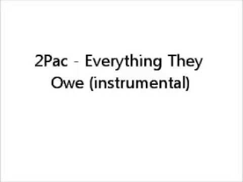 2Pac   Everything They Owe Instrumental 360p