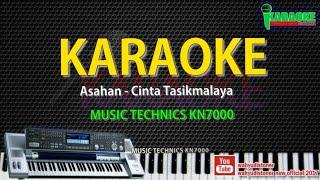 Karaoke Cinta Tasikmalaya - Asahan (Cover) Technics KN7000 HD Quality Lirik Tanpa Vocal 2018