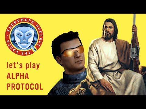 Qanon Anonymous: Let's Play Alpha Protocol (Part 1)