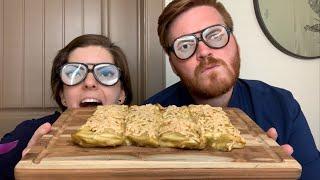 ASMR Husband Wife Spicy Vegan Enchiladas Recipe And Mukbang