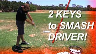 GOLF - 2 Keys to Smash Driver, MONTE Scheinblum