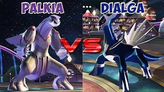 Pokemon battle revolution - Palkia vs Dialga