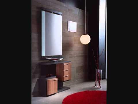 12 recibidores modernos 1 mobles youtube for Recibidores modernos