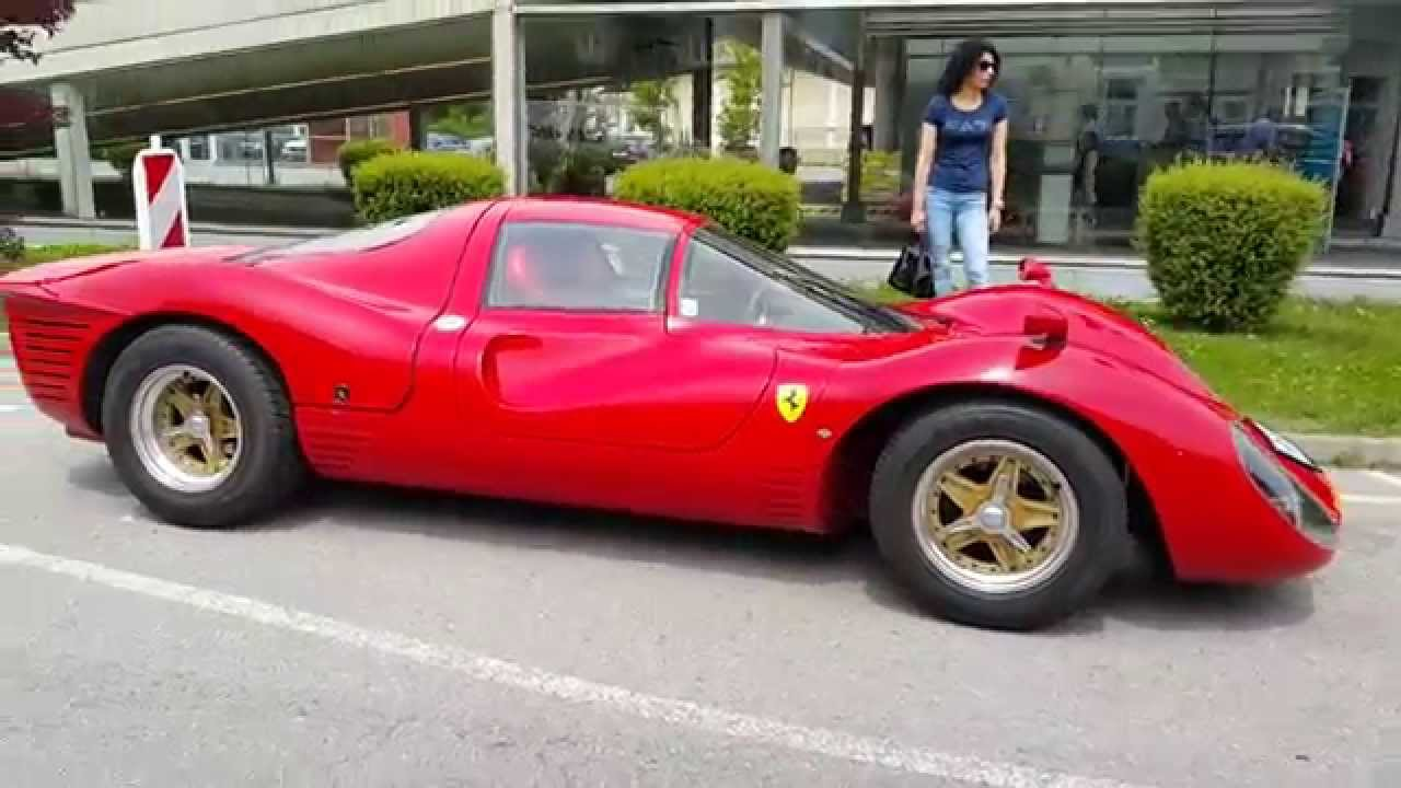 Ferrari 330 P4 Replica In Velden Austria Youtube