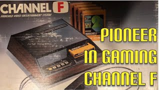 The Fairchild Channel F was the first programmable ROM cart based c...