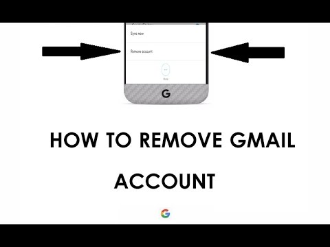 how to delete gmail account from android