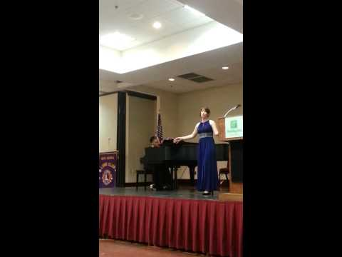 1st Place Vocalist - 2013 State Bland Competition