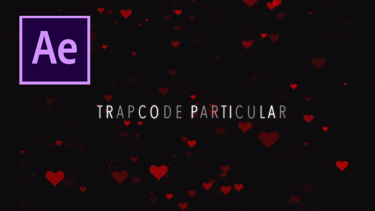 How to Create a Heart Title Animation in Adobe After Effects using Trapcode Particular