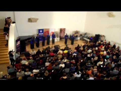 Howard Gospel University Choir - Oh Freedom/We Shall Overcome live@Osijek, Croatia