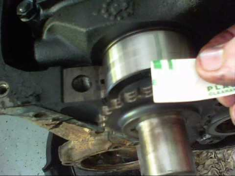 How To Check Your Bearing Clearance With Plastiguage