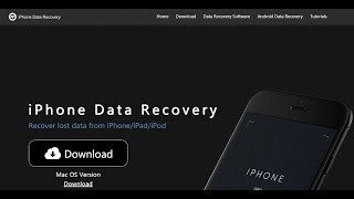 Iphone Data Recovery Software Full free Download 2019