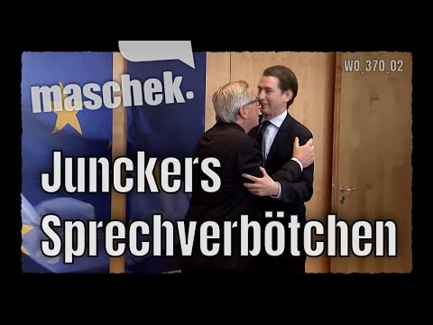 maschek - Junckers Sprechverbötchen