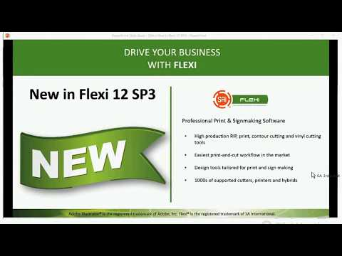 What's New in Flexi 12 Service Pack 3