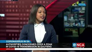 Gauteng Premier concerned over people gathering in huge numbers