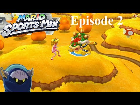Mario sport mix walkthrough fr pisode 2 dodgeball - Passage secret mario bros wii ...
