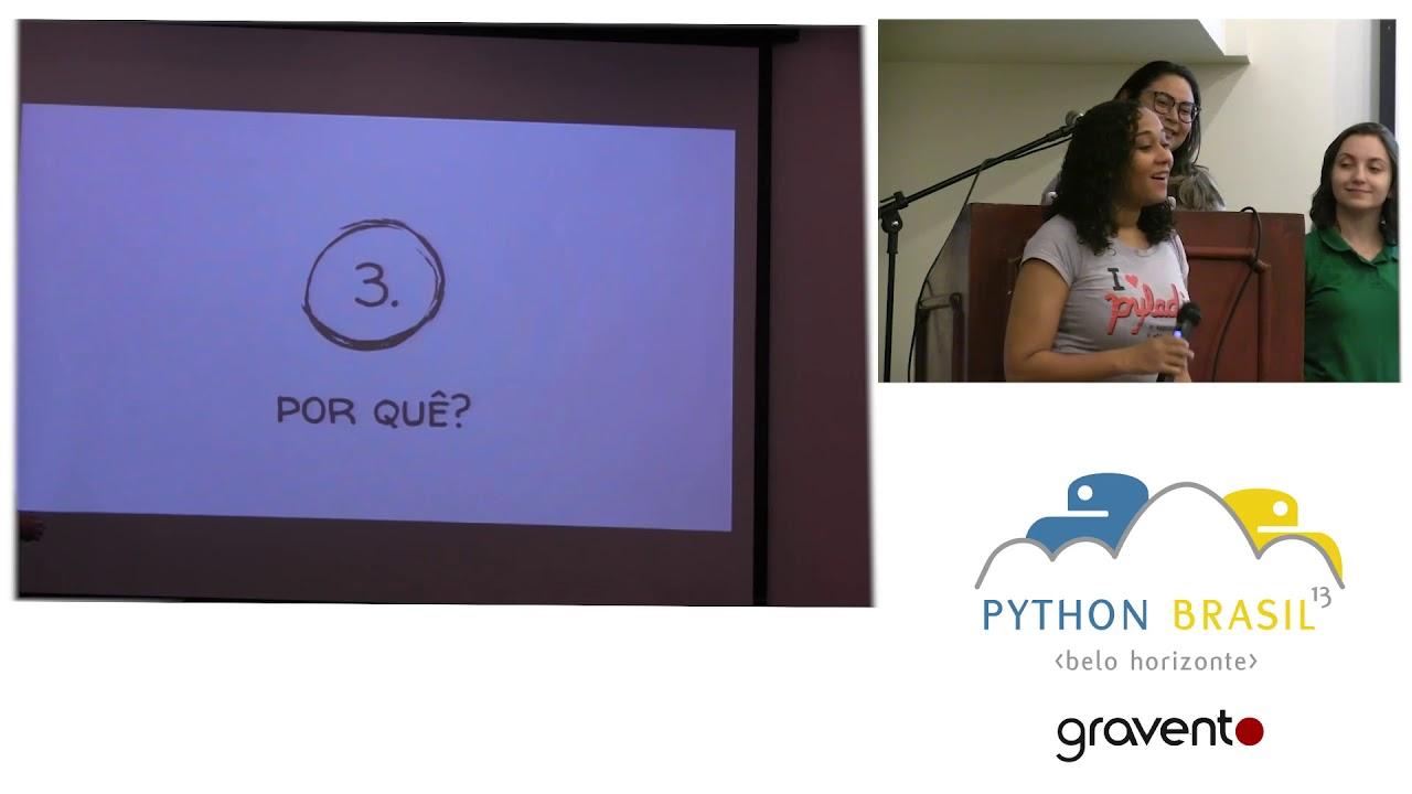 Image from PyLadies e Django Girls promovendo a diversidade na tecnologia - Pyladies Brasil