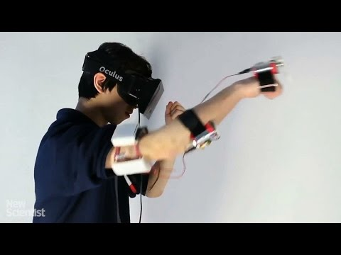 Body-zapping electrodes let you feel virtual punches
