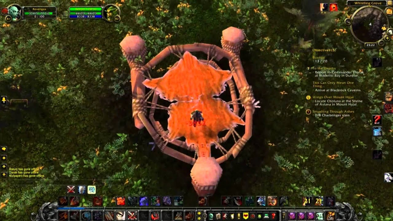 how to get to mount hyjal raid