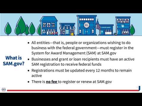 SAM.gov Entity Registration