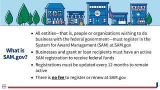 SAM.gov Entity Registration Training