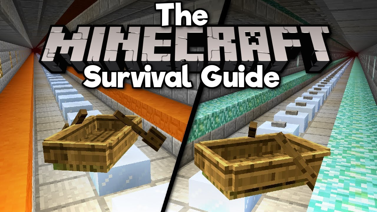 Super Fast Nether Transport! ▫ The Minecraft Survival Guide (Tutorial Lets Play) [Part 90]