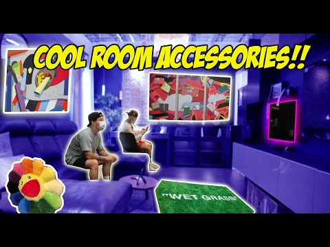 ITEMS THAT INSTANTLY MAKE YOUR ROOM COOLER! (DECORATING TIPS)
