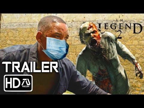 I AM LEGEND 2 [HD] Trailer -Will Smith Horror Movie [Fan Made]