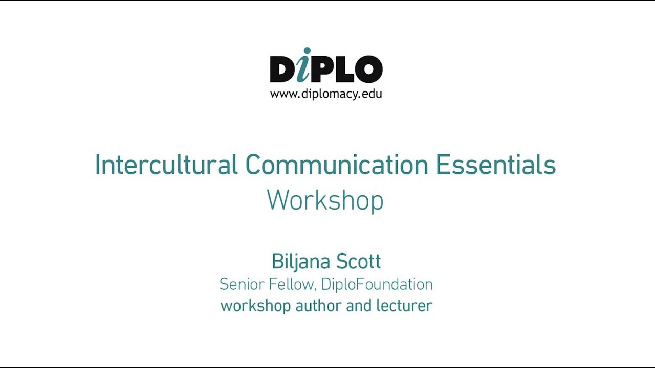 Intercultural communication | DiploFoundation