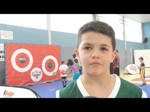 200 Teilnehmer beim Testtag der kinder+Sport Basketball Academy in Bremen-Findorff