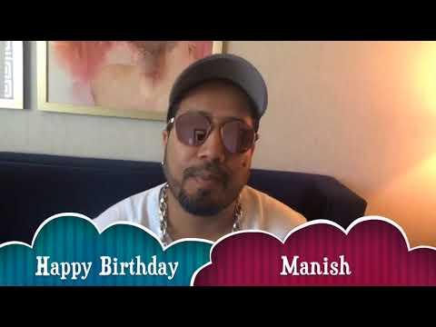 Happy Birthday Manish Sood