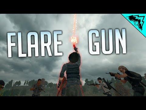FLARE GUNS - PUBG WTF Rules (PlayerUnknown's Battlegrounds)