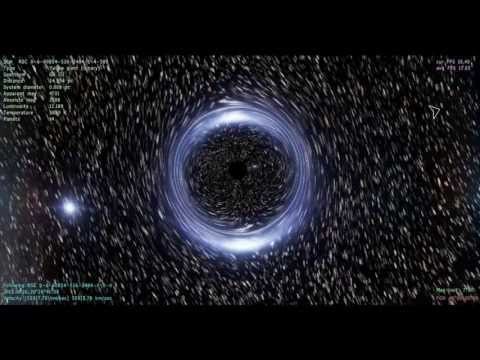 Getting lost in Space Engine #5 gravity well