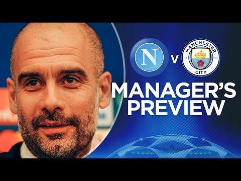 PEP GUARDIOLA AND DAVID SILVA FULL PRESS CONFERENCE | Napoli v Man City