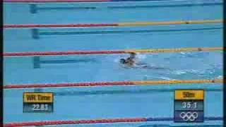 World's Worst Olympic Swimming Trial(Two are disqualified for jumping the gun. The last one races against himself. Guess who won? (found at college humor), 2008-08-06T00:06:44.000Z)