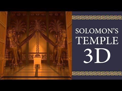 El Templo De Salomón En 3D