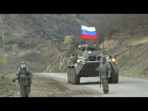 Российский военнослужащий погиб в Нагорном Карабахе.