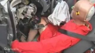 Краш тест Volkswagen Golf 2008 100kmh