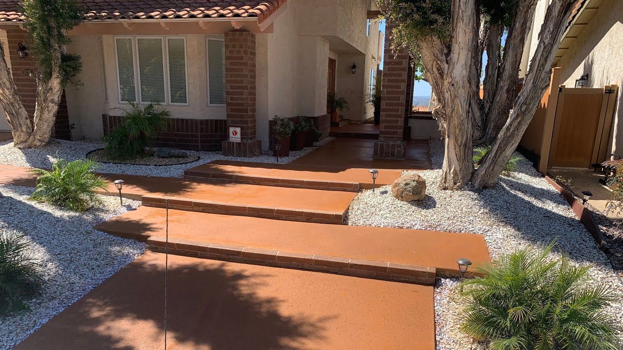 Now Offering Concrete Staining & Sealing