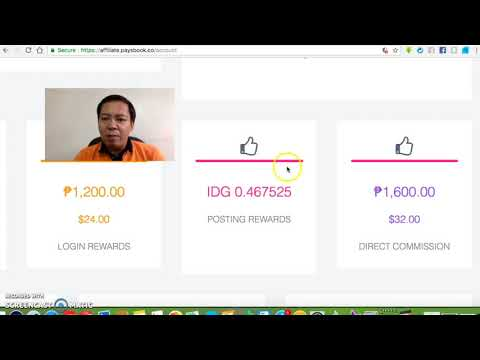 How To Earn IDG Coins in Paysbook