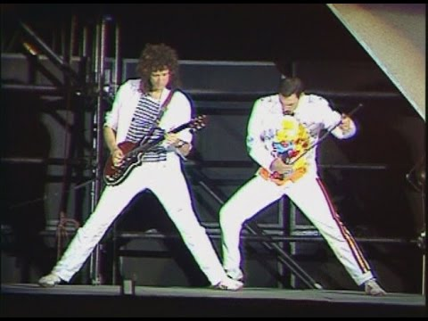Queen - Now I&39;m Here -  at Wembley 1986 Both Nights Pre-Overdubbing