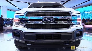 2018 Ford F150 King Ranch - Exterior And Interior Walkaround - Debut At 2017 Detroit Auto Show