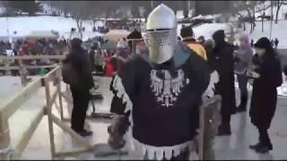Willful Cruelty of Heavy Fighting at Knights Tournament 2018 in Kiev, Ukraine