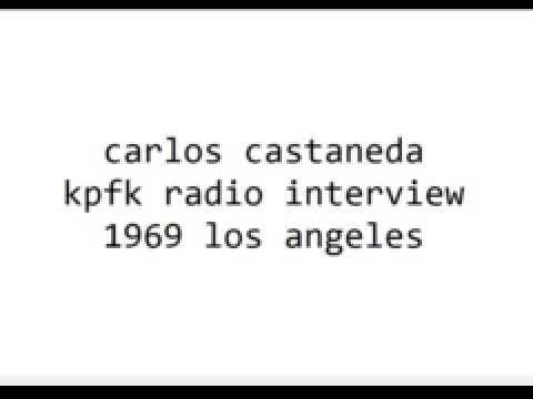 Carlos Castaneda 1969  kpfk radio Los Angeles